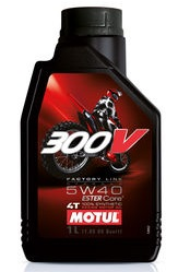 Motul 300V 4T Factory Line Off Road 5W-40